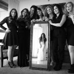 צילום חתונה אילן סימן-טוב שושבינות הכנות כלה