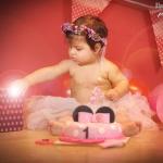 יום הולדת יומולדת עוגה זר פרחים ניו בורן ילדים ילדה תינוקת תינוקות baby birthday photoshoot